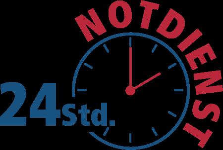 24-Stunden-Notdienst