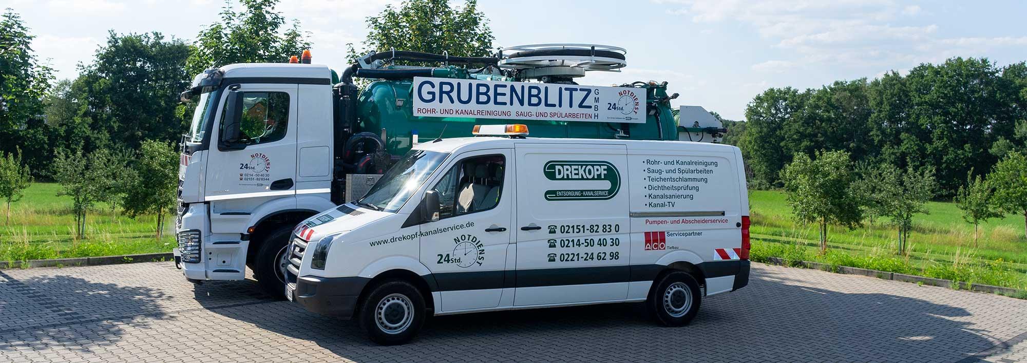 Kanalreingung Grubenblitz