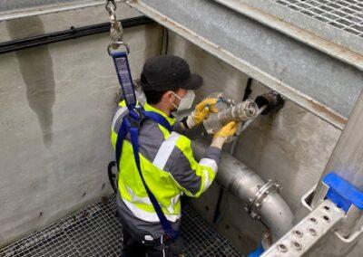 Die Molchreinigung ist ein spezielles Reinigungsverfahren für Druckleitungen