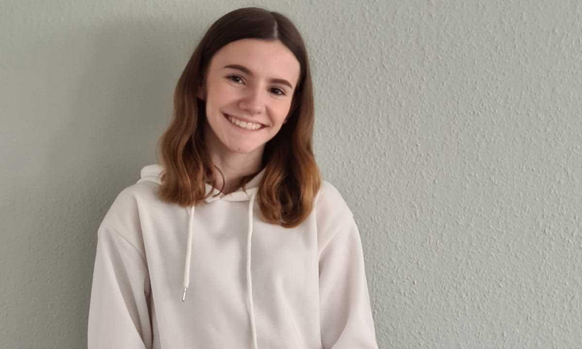 Die Schülerin Jenna absolvierte ein dreiwöchiges Praktikum bei uns in Krefeld
